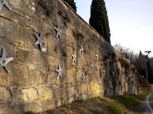 ancoraggi consolidamenti Ancoraggi sul muro di contenimento del Museo del Risorgimento Vicenza