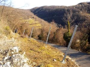 barriere paramassi opere speciali Montaggio di barriera paramassi Lugo di Vicenza
