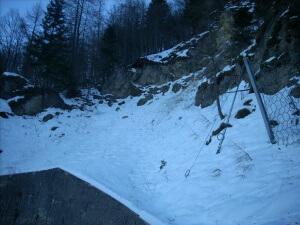 Interruzione lavori a Tonezza causa neve - Piccole Dolomiti