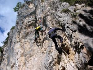 lavori in parete lavori in fune Messa in sicurezza di pareti rocciose Crespadoro