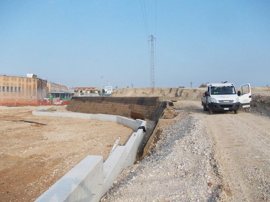 Fasi di costruzione del rilevato stradale bussolengo - Fasi di costruzione di una casa ...