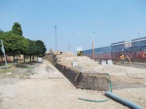 rilevati stradali terre rinforzate Fasi di costruzione del rilevato stradale Bussolengo