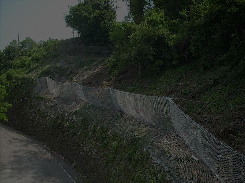 Installazione e ripristino delle barriere - Barriere paramassi e paravalanghe